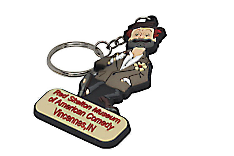 Advertising Custom 2D Rubber Pvc Key Chain Soft Pvc Rubber Keychain